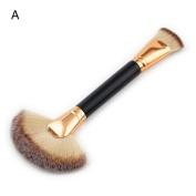 certainPL New 1Pc Fan Brush Portable Slim Professional Makeup Brush