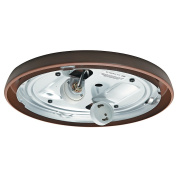 Casablanca Fan Company 99256 CFL Low Profile Fitter, Maiden Bronze