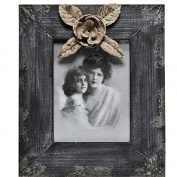 Caffco International Wood Camellia Picture Frame, 13cm x 18cm