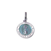 Luxepets St Francis Charm Small, Blue