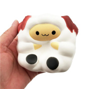 Squishy Toys, Quistal Soft Cute Sheep Scented Slow Rising Squishy Toys Stress Relief Toys for Kids Adults