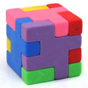 24 Cube Rubber puzzles erasers
