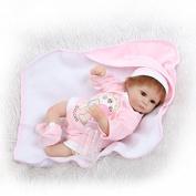 LILITH NEW 41cm Reborn Baby Girl Dolls Lifelike Soft Silicone Vinyl Babies Reborn Baby Dolls Realistic Looking Newborn Lifelike Baby Girl Dolls