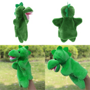 Broadroot Cute Dinosaur Hand Puppet Baby Kids Child Soft Doll Plush Toy