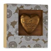 DEMDACO Love Never Fails Heart Shadow Box, 20cm