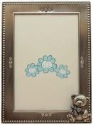 Fei Gifts Teddy Bear Frame, 10cm by 15cm , Blue
