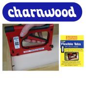New Charnwood T225 Tab Gun + 2500 T4F Flexible Tabs