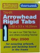 Charnwood TAHR 16mm Arrowhead Tabs, 2500pcs