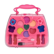 Kids Educational Toys,Y56 Portable Princess Girl's Pretend Play Toy Deluxe Makeup Palette Set NON TOXIC For Kids Gift For Children Kid Educational Toy Set Home Living Children Kids Toy