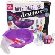 GL Style Dippy Dazzling Designer Kit Childrens Tie Dye Jewellery Fashion Making Set