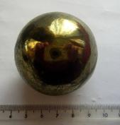 CHALCOPYRITE GOLD CRYSTAL LARGE 50mm SPHERE 262g 50mm st149