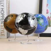 Bureze Automatic Rotating World Globe