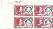 15 Cent US Airmail Stamp Plate Block #C66 US Montgomery Blair