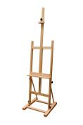 Airton Artists H-Frame Adjustable Wooden Studio Easel