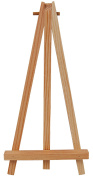 Country Love Crafts Easel Wooden Craft Blank, Light Brown