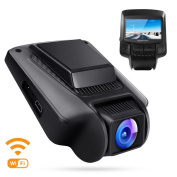 APEMAN FHD 1080P Wifi In Car Dash Cam Camera DVR 170° Wide Angle Lens 6.2cm IPS LCD SONY IMX323 Sensor Super Night Vision with WDR, Loop Recording, Motion Detection, G-sensor, Parking Monitor