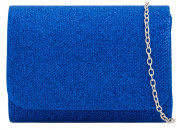 Girly HandBags Shimmer Effect Clutch Bag
