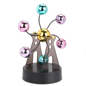 huichang Electronic Windmill Ball Perpetual Motion Desk Toy Revolving Balance Balls Physics Science Toy