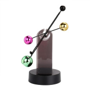 huichang Electronic Perpetual Motion Desk Toy Revolving Balance Balls Physics Science Education Toy