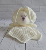 KNITTING PATTERN Rabbit Comforter Blanket From Knitting by Post