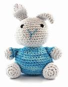 "HOOOKED ""Bunny Nila"" Barbante Eco Kit, Peppermint"