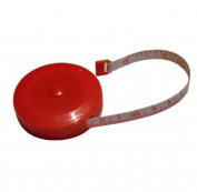 Big Sam tape – tape measure – tape measure – 150 cm/1.5m, red