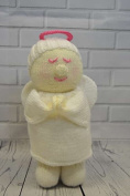 KNITTING PATTERN Festive Friends Angel Soft Toy From Knitting by Post