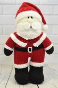 KNITTING PATTERN Festive Friends Santa Soft Toy From Knitting by Post