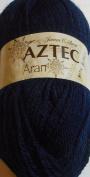 James C. Brett Aztec Aran AL17 Navy Blue