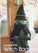 KNITTING PATTERN Witch Baggles Gift Bag From Knitting by Post