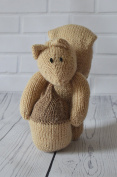 KNITTING PATTERN Nutty the Squirrel From Knitting by Post