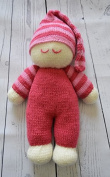 KNITTING PATTERN Easy Knit Dolly from Knitting by Post