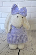 KNITTING PATTERN Muffin the Rabbit Bunny Soft Toy