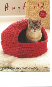 Sirdar/Hayfield Super Chunky with Wool 100g Crochet Pattern - 7804 Cats Nest & Storage Baskets