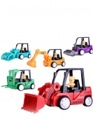 Pull Back Construction Vehicles Dump Truck Toys, GreatestPAK Funny Collection Model, Colour Random