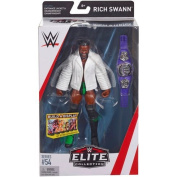 Wrestling WWE Mattel Elite Collection Series # 54 Rich Swann Swan 205 live With Cruiserweight Belt & Accessories Wrestling Action Figure