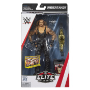 Wrestling WWE Mattel Elite Collection Series # 55 The Undertaker American Bad Ass With Belt & Accessories Wrestling Action Figure