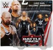 Wrestling WWE Mattel Battle Pack Basic Collection Series 50 Luke Gallows & Karl Anderson The Club Action Figure
