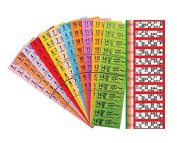 1500 12 To View Bingo Booklets - 5 Games