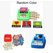 Puzzle Toy Alphabet Card Games,Mamum English Spelling Alphabet Letter Game Early Learning Educational Toy Kids