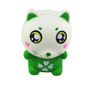The Relief The Cat Squeeze Toys,Mamum Cute Cartoon Animals Cat Squishy Slow Rising Squeeze Phone Straps Toys