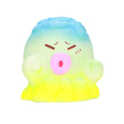 Octopus Decompression Toys,Mamum Squeeze Octopus Squishy Slow Rising Cream Scented Decompression Toys