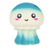 Colourful Jellyfish Decompression Toys,Mamum Squeeze Jellyfish Squishy Slow Rising Cream Scented Decompression Toys