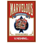 Marvellous Multiplying Card Boxes (Gimmick and DVD) by Matthew Wright and Vanishing Inc - originale - Trucchi con le carte - Giochi di Magia