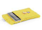 Hoooked Crafts Eco Crochet Knit Box Gift Kit - Tablet Sleeve - Lemon Yellow