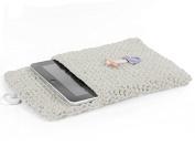 Hoooked Crafts Eco Crochet Knit Box Gift Kit - Tablet Sleeve - Sandy Ecru