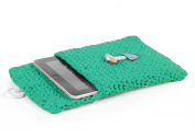 Hoooked Crafts Eco Crochet Knit Box Gift Kit - Tablet Sleeve - Happy Mint