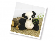 The Crafty Kit Co. Crochet Kit-Patsy Panda