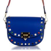 FIRENZE ARTEGIANI. Woman Geunuine Leather handbag. Wirstlet handbag,Shoulder handbag fine soft leather.MADE IN ITALY. GENUINE ITALIAN LEATHER20x15x8 cm. Colour