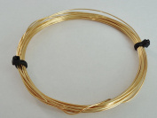 5m x 0.8mm Soft Unplated Round Brass Wire for Crafting and Jewellery Making UK Seller